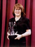 Sharon with Ben Franklin Award - 2007